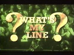 Whatsmyline title