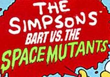 Bart vs. The Space Mutants logo