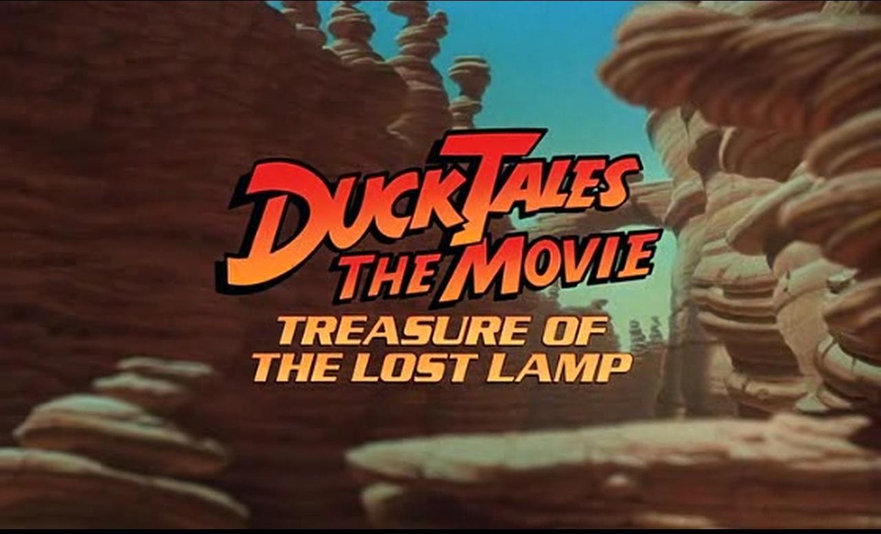 1990 (Film). DuckTales The Movie Treasure Of The Lost Lamp ...