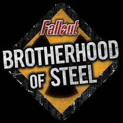 Fallout brotherhood of steellogo