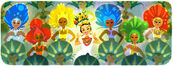Google Carmen Miranda's 108th Birthday