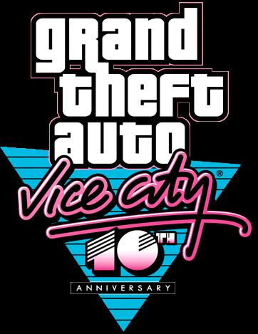 image - grand theft auto - vice city (anniversary) | logopedia