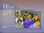 KGOCh7TheOprahWinfreyShow StartingPromoForSept81986