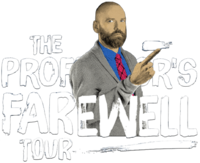 The Professor's Farewell Tour Logo