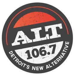 WDTW-FM ALT 106.7