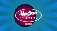 Hasbro Studios logo over bass drum
