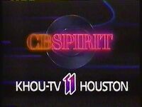 KHOU 11 CBSpirit Oh Yes 1987