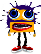Klasky Csupo Robot Face in Splaat!