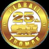 PlarailThomas25thAnniversaryLogo
