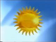 Polsat 1994 logo (sun)