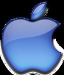 Apple 2001 dark blue