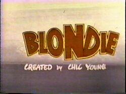 Blondie Title Card