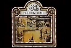 Don Adam's Screen Test