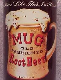 Mug Root Beer 1960