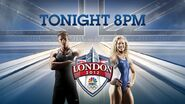 NBC Sports' The Games Of The 30th Summer Olympics - Primetime Video Promo For Wednesday Night, August 8, 2012