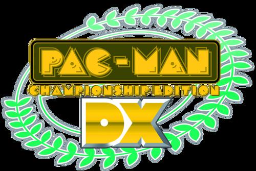 Pac man championship edition dx logo by ringostarr39-d6cbb3c