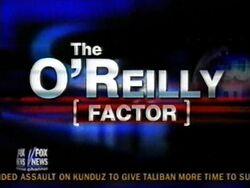 The oreilly factor2001a