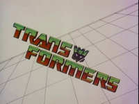 Transformers 1984 TV Series Decepticon