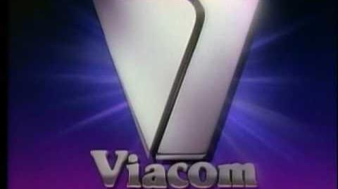 "Viacom The Ultra Warp Speed ""V of Steel"" Logo"