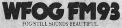 WFOG FM93 1978
