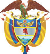Coat of arms colombia 2012