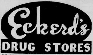 Eckerd's - 1960 -July 6, 1961-