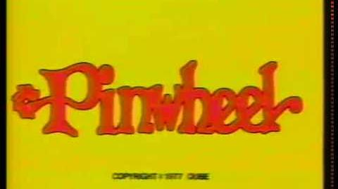Pinwheel (Nickelodeon) yellow bumper from 1977 (82317A)