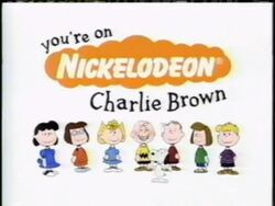 You're On Nickelodeon, Charlie Brown