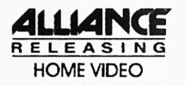 Alliance Releasing Home Video early alternate logo