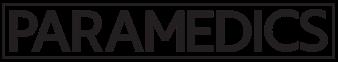 Paramedics Title Treatment black