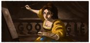 Artemisia Gentileschi's 427th Birthday