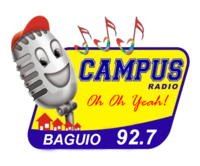 Campus Radio 92.7 Baguio Logo 2007