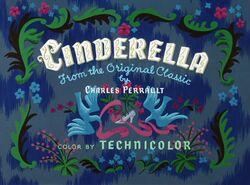 Cinderella Title Card 1950