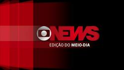 Jornal GloboNews - Edição do Meio-Dia vinheta 2013