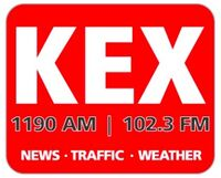 KEX AM and FM logo