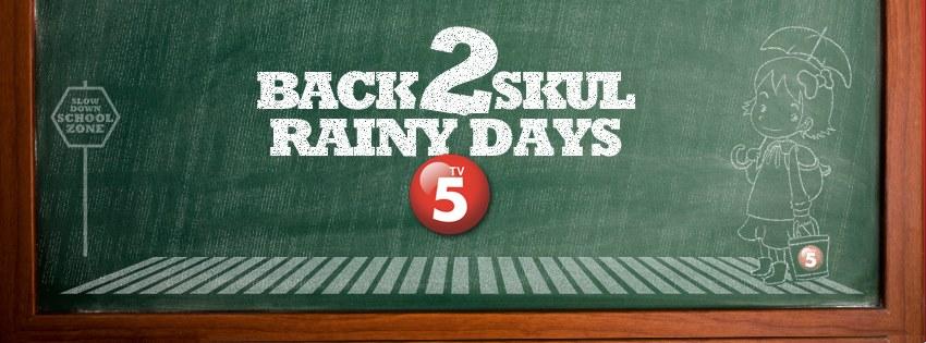 TV5 Back 2 Skul Rainy DayPNG