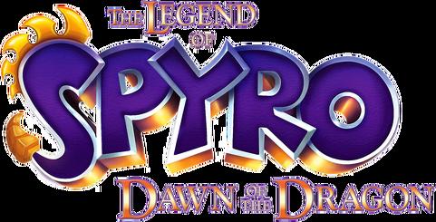 The legend of spyro dawn of the dragon logo by godzilladragon-dbrvmgu