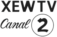 XEW TV Canal 2 1950 logo