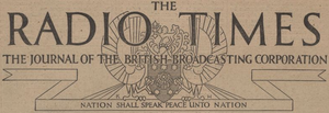 Radio Times 1928