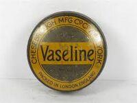 Vaseline old tin