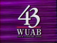 WUAB Channel 43 1992