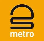 Metro Iceland inverted logo