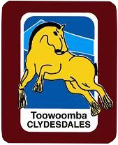 Toowoomba clydesdales logo