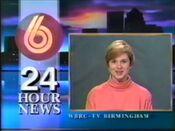 WBRC-TV Channel 6 News Weekend promo 1991