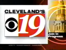WOIO Cleveland's CBS 19 2002 In Progress