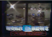 WOKR 13 News 24 Newsroom card 1985