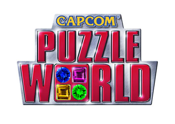 3786capcom puzzle world logo