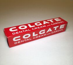 Colgate Dental Cream ca 1950s
