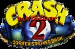 Crash Bandicoot 2 Cortex Strikes Back logo