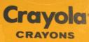 Crayola Crayons 1982